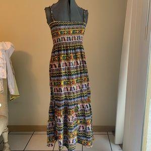 Dresses & Skirts - Tribal print colorful maxi
